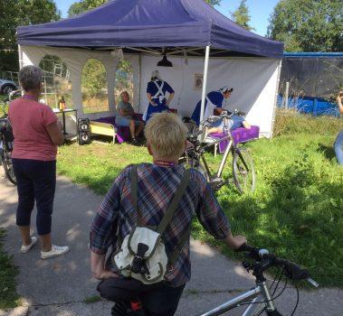 Culturele fietstocht Kleine Dorpen succesvol
